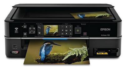 Epson Artisan 710 Printer Driver Download latest