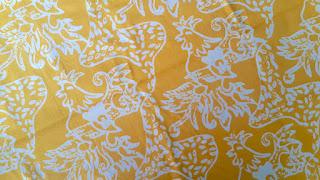 Batik Cianjur Motif Hayam Pelung