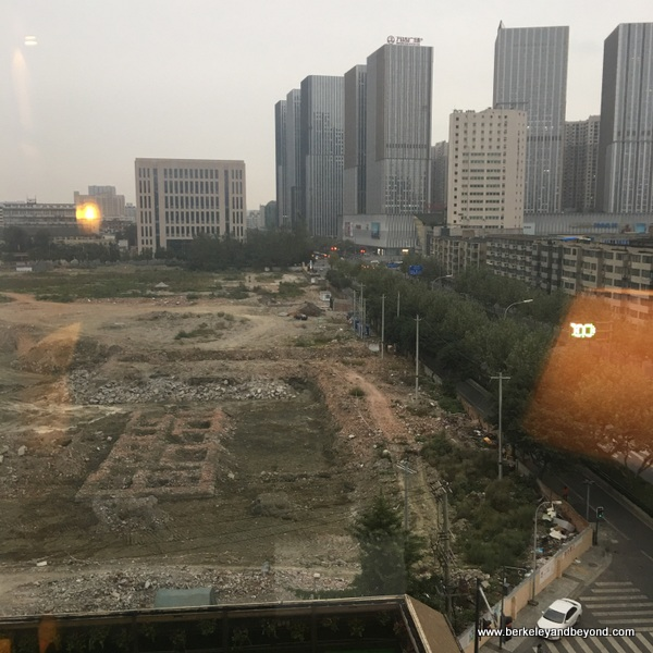 view from guest room at Tibet Hotel Chengdu in Chengdu, China