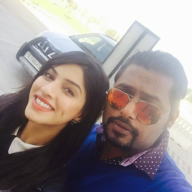 !!! a perfect click with actress of movie