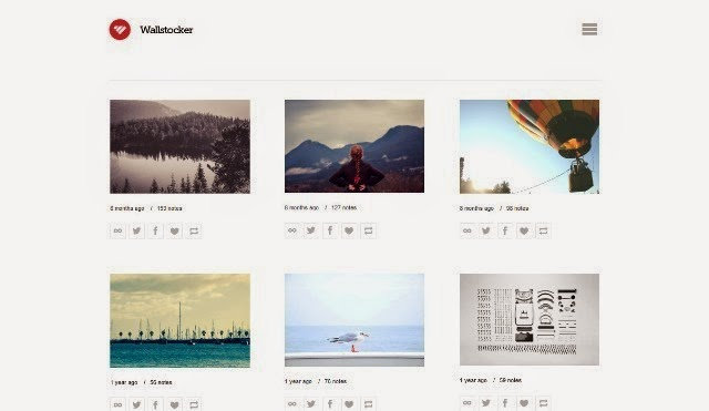 Wallstocker - Free Tumblr Theme