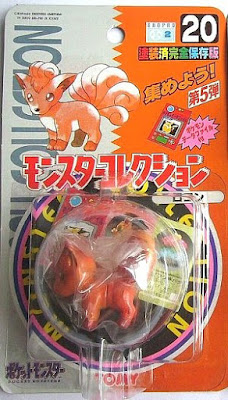 Vulpix figure Tomy Monster Collection series