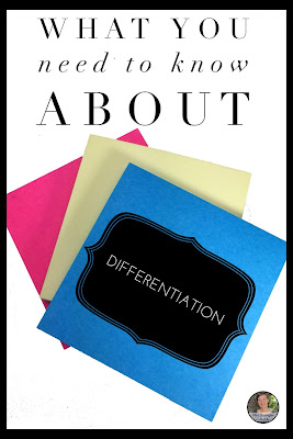 Get to the brass tacks on differentiation in the classroom with an exciting sneak peek of something new!   #teaching #middleschool #languagearts