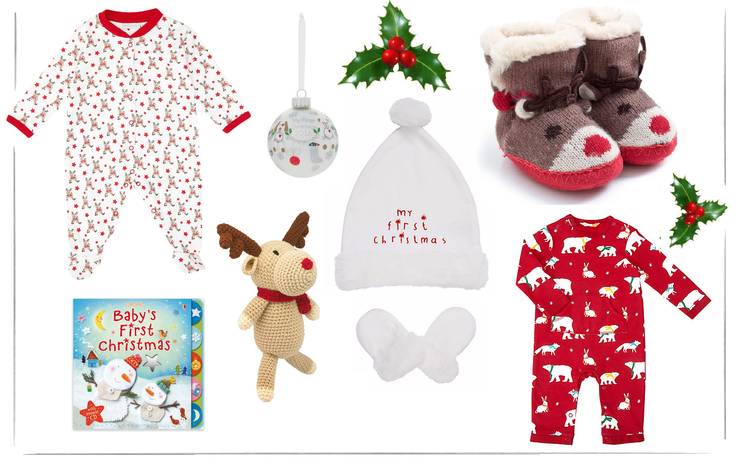 Baby\'s First Christmas Eve Box | Maisy Meow