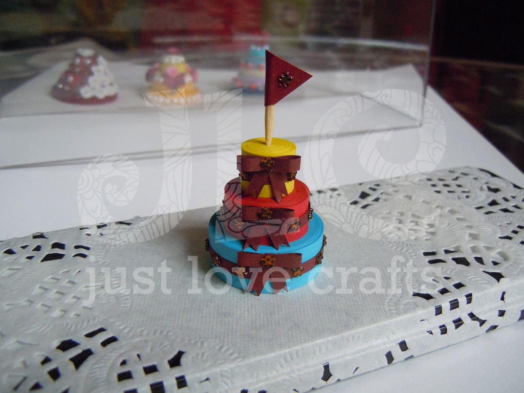 Maroon Cake Icing