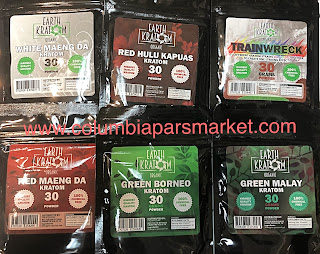 Earth Kratom All Natural Organic powder kratom at pars market columbia Maryland 21045