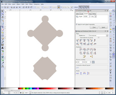 Creating the Knobby and Indented Shapes