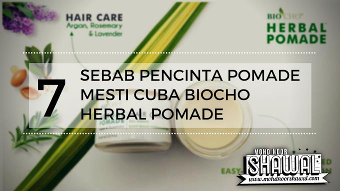 7 Sebab Pencinta Pomade Mesti Cuba Biocho Herbal Pomade