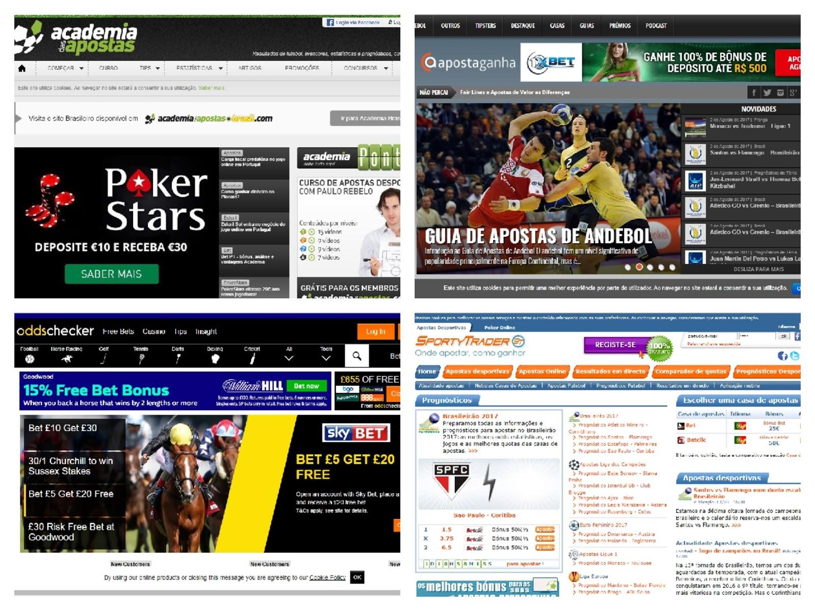 Aprender a fazer apostas desportivas