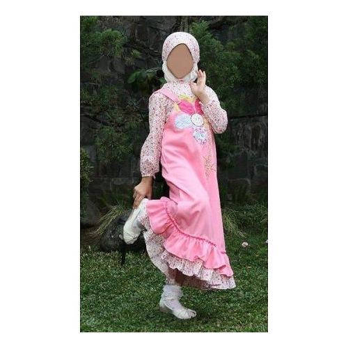 Gambar Koleksi Baju Muslim Anak Merk Dannis Terbaru 2017