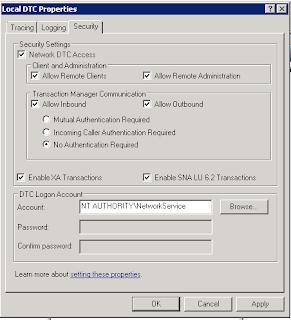 SPED PIS/COFINS Parte 6 - Configuração MS DTC - Microsoft
