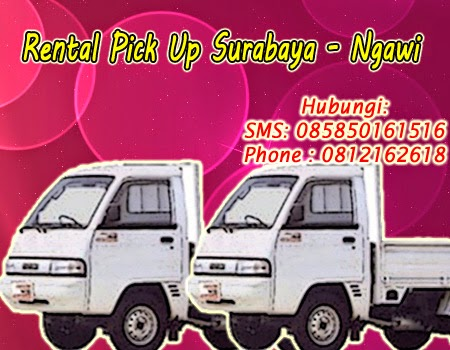 Rental Pick Up Zebra Surabaya-Ngawi
