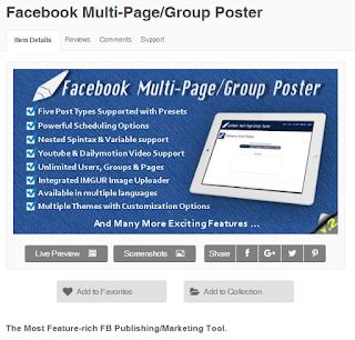 Download Facebook Multi-Page/Group Poster v2.97