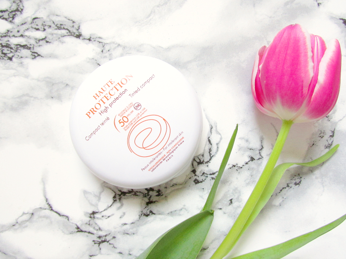 Review: Avène - High Protection Tinted Compact SFP50 - 10g - 19.90 Euro