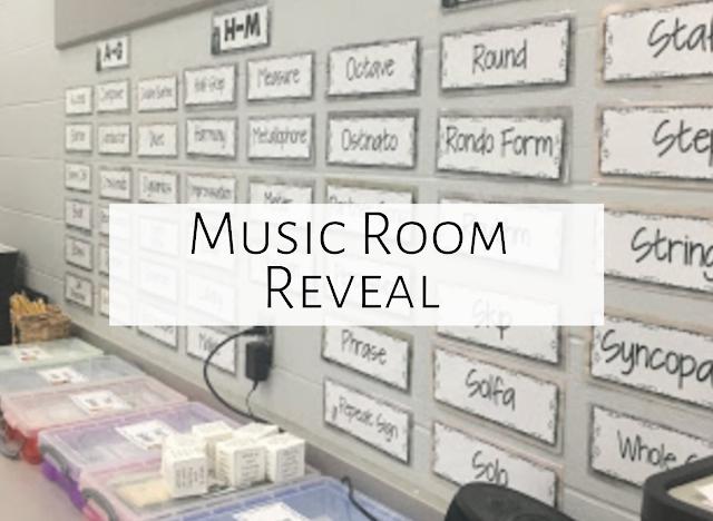Classroom Reveal 2018-2019