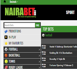 Nairabet With New Design