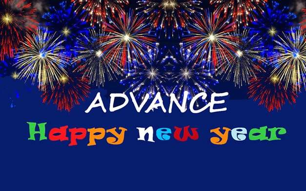 New Year wishes in advance