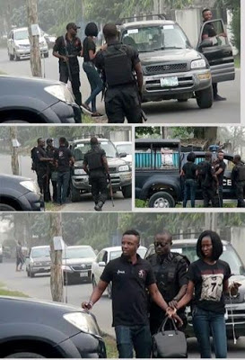Nigeria Police Force Helps Man Propose to His Girlfriend [PHOTOS]