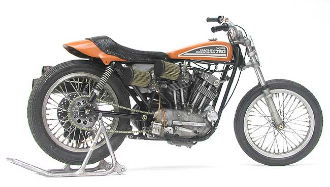 Harley Davidson: Racing Scale Models: Harley-Davidson XR 750 1972 By Kim's
