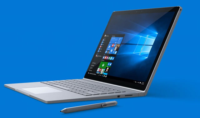 MICROSOFT INDRODUCED SURFACE BOOK WITH SUPPORT FOR NVIDIA GRAPHICS
