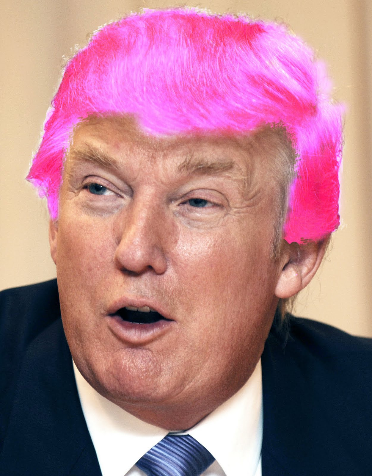 Billionaire Gambler Donald Trump Hair