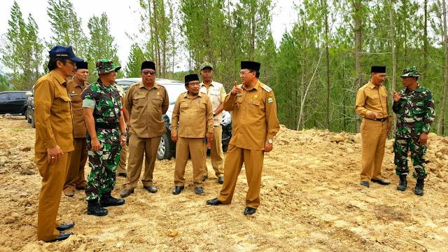 Bupati Aceh Tengah Resmikan Pembukaan Akses Jalan