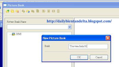 Hướng dẫn tạo thư viện hình ảnh riêng khi lập trình màn hình cảm ứng HMI Delta