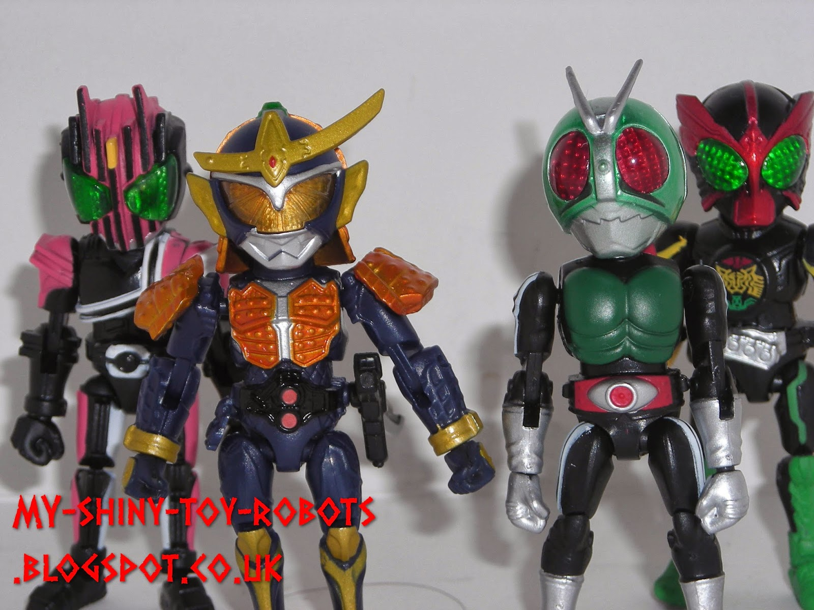 66action Kamen Riders Wave 1
