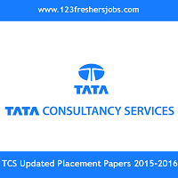 TCS Latest Placement Papers 2016-2017