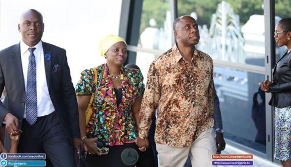The Love Between Our Minister Of Transport, Amaechi And His Wife (Photos)