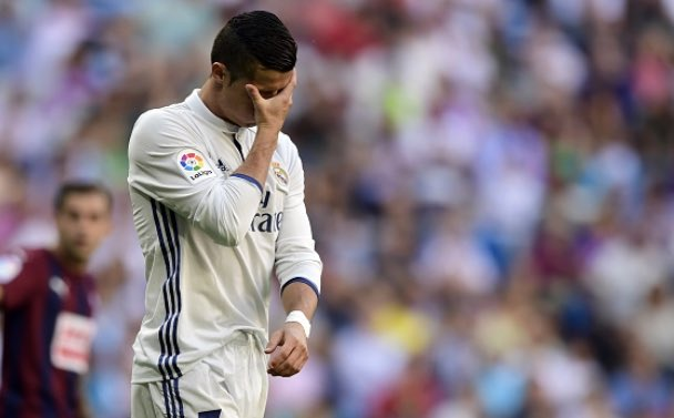 Real Madrid empata com o Eibar e dá adeus a liderança da La Liga