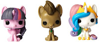 My Little Pony Tin Dr. Hooves, Celestia, Twilight 3 Pack