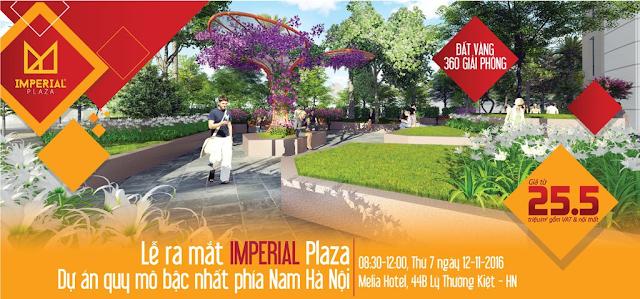 Lễ ra mắt dự án Imperial Plaza