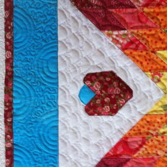 Detail quiltwerk