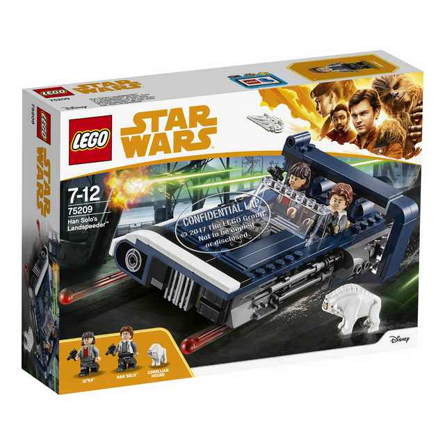 Lego Star Wars Han Solo - Han Solo's Landspeeder (75209)