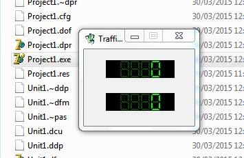 Cara Membuat Traffic Digital di Delphi 7
