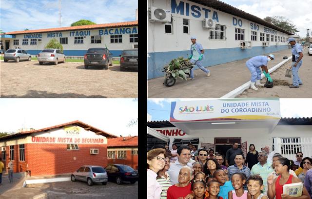 São Luis é condenado a recuperar e manter as Unidades Mistas do Bequimão, Itaqui-Bacanga, São Bernardo e Coroadinho
