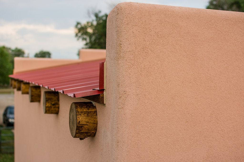 Tiny house town a 250 sq ft southwest abode for Adobe roof