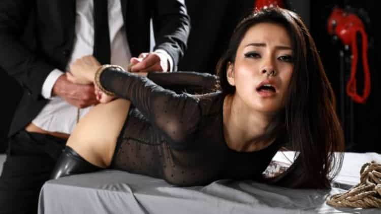 Rae Lil Black in Idee Fixe Restraint - Babes