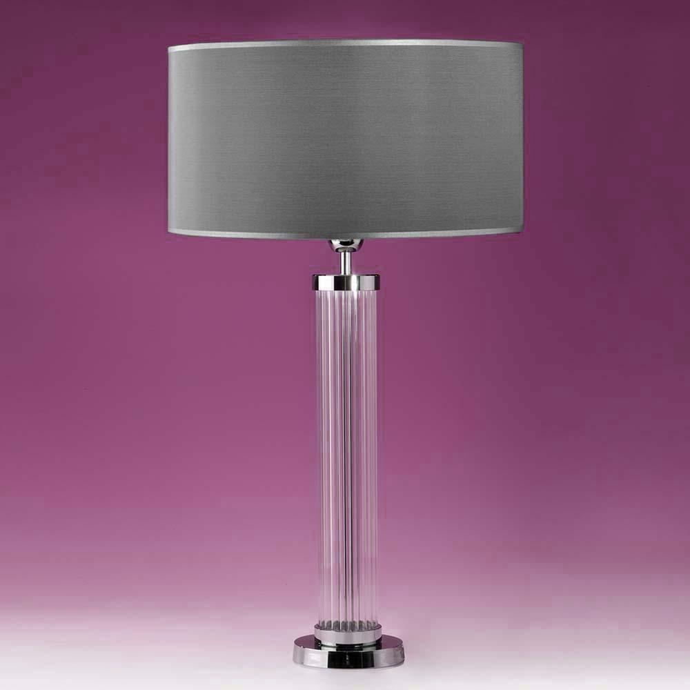 tischleuchten aus glas und kristall tischleuchte aus glas tube. Black Bedroom Furniture Sets. Home Design Ideas