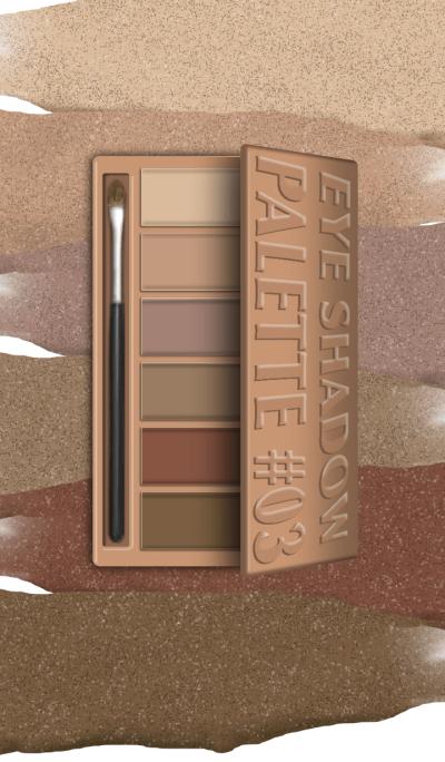 COSMETICS Eye Shadow Palette #03