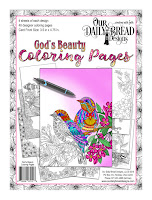 ODBD God's Beauty Coloring Pages