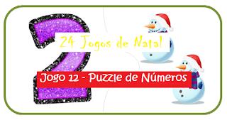Natal - Jogo puzzle de números