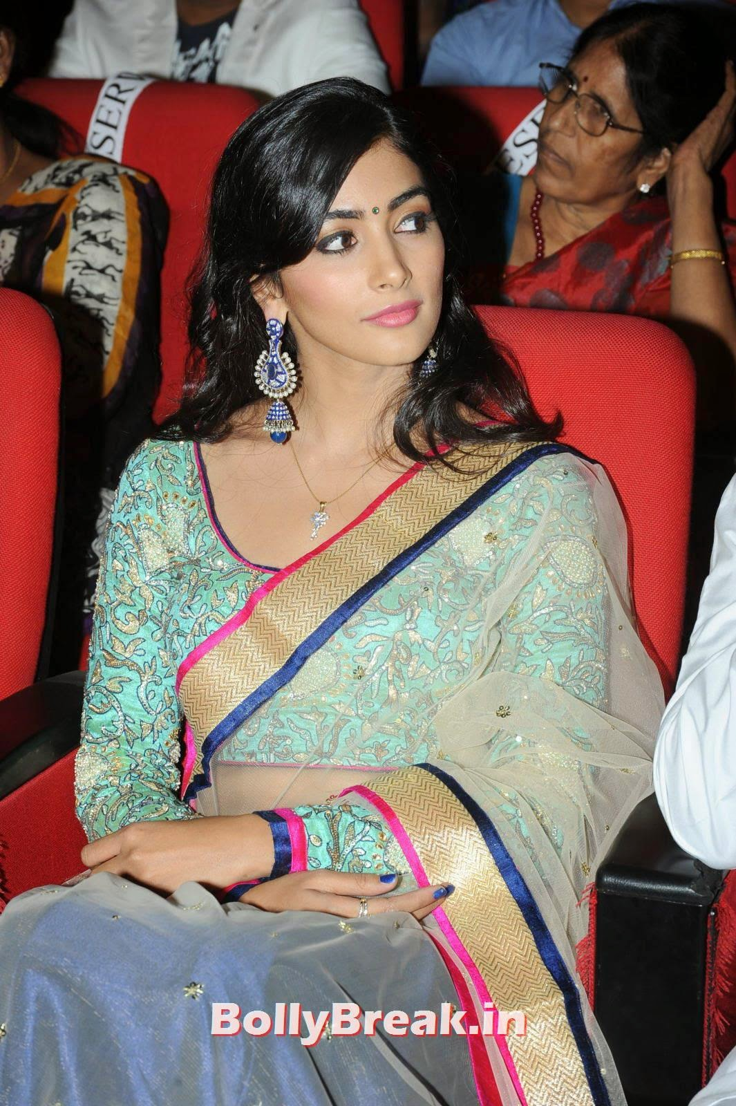 Pooja Hegde, hot Pics of Pooja Hegde from Mukunda Movie Audi Launch