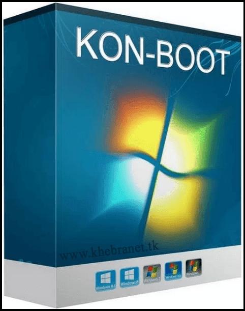 برنامج Kon-Boot للدخول الى الويندوز رغم نسيان كلمة المرور