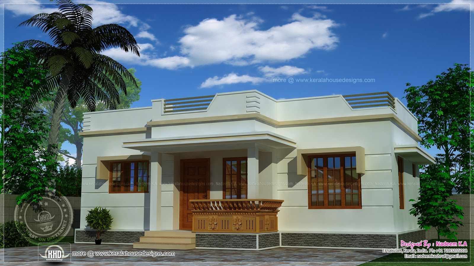cheapest home plans in kerala » Architectural home plans | Victorian