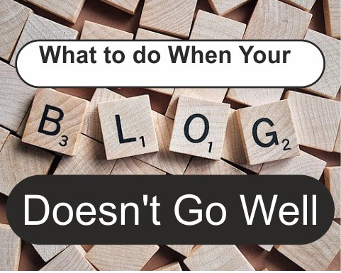 My blog is not doing well, what do i do?