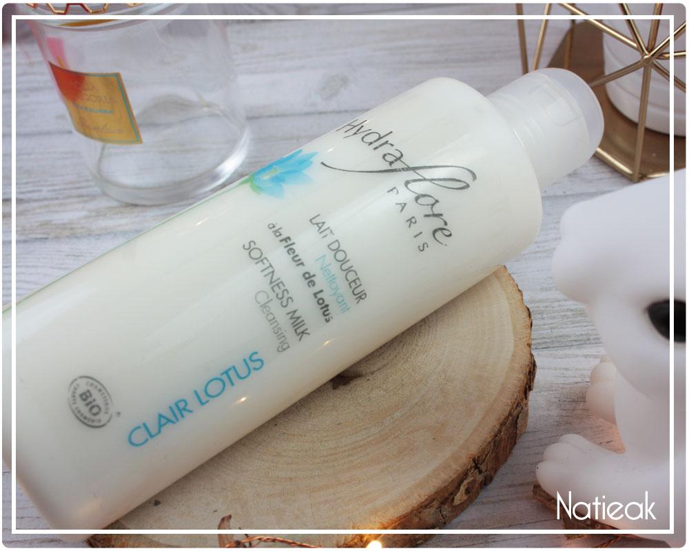 lait nettoyant visage utilisation