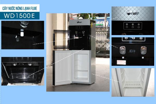 Thông tin sản phẩm Cây nước nóng lạnh của nhật FujiE WD1500E chính hãng đa năng