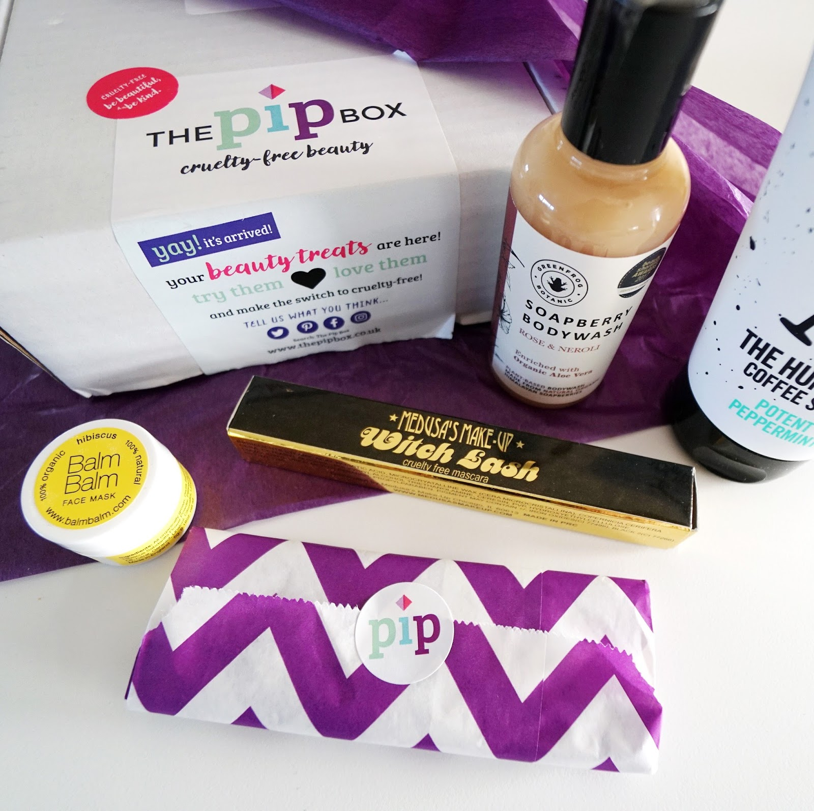 The Pip Box Competition Cruelty Free Ad Sarah Kirby